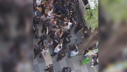على طريقة إسطنبول.. شرطة أنقرة تفض «مسيرة الفخر» بالقوة وتعتقل 20 مواطنًا