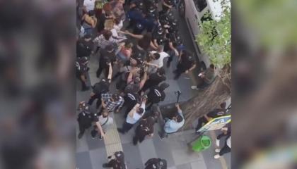 فيديو: شرطة أنقرة تفض «مسيرة الفخر» بالقوة وتعتقل المشاركين فيها