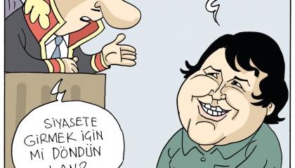 كاريكاتير: في عهد أردوغان.. الحرية من حق المحتالين!
