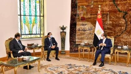 السيسي: مصر تدعم مسار الحريري من أجل استعادة استقرار لبنان