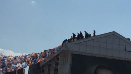 الشرطة تنجح في اقناع مواطن تركي العدول عن قراره