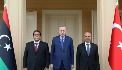 أردوغان يهاتف رئيس المجلس الرئاسي الليبي