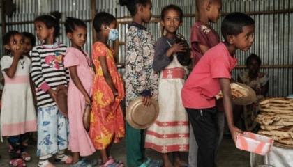 يونيسف: أكثر من 100 ألف طفل يعانون أوضاعًا كارثية بسبب الحرب في تيجراي