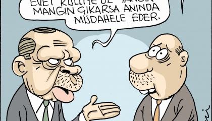 كاريكاتير: تركيا تحترق وأردوغان يطمع في طائرات الإطفاء!