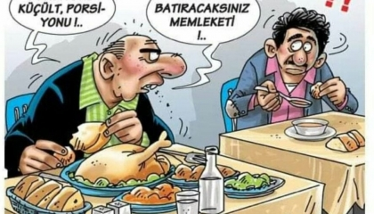 كاريكاتير: في الدولة الأردوغانية... الفقير فقط مطالب بعدم الإسراف!