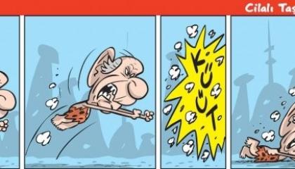 كاريكاتير: حليف أردوغان يحاول بكل الطرق التخلص من الأكراد!