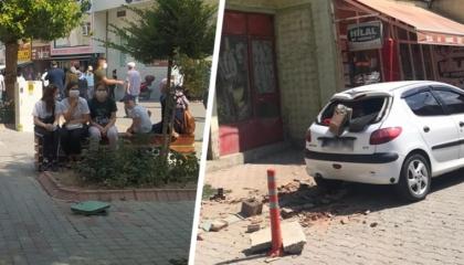 زلزالان يضربان مدينة موغلا التركية.. وارتفاع أعداد المباني المعرضة للانهيار