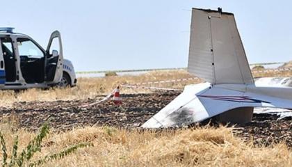 تحطم طائرة تدريب في مدينة صقاريا التركية