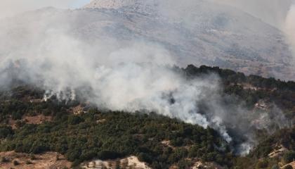 اندلاع حريق هائل في مدينة موغلا التركية