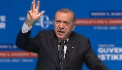 أردوغان يتخلى عن شعار «رابعة» للمرة الثالثة لتحسين العلاقات مع السيسي