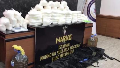 السلطات التركية تظبط 123 كيلو و300 جرامًا من المواد المخدرة بمدينة إسطنبول