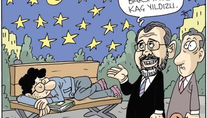 كاريكاتير: المشردون في شوارع تركيا