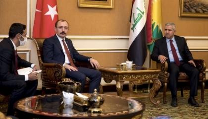 تركيا وكردستان العراق تتفقان على توسيع العلاقات التجارية والاقتصادية