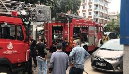 اندلاع حريق بقبو مستشفى في مدينة إسطنبول التركية