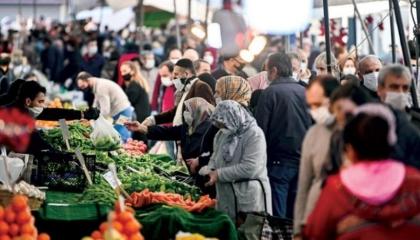 ارتفاع التضخم فى تركيا إلى 19.58 %