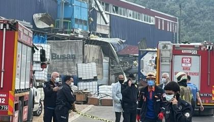 مصرع عامل وإصابة 3 آخرين في انفجار مصنع كيماويات بتركيا