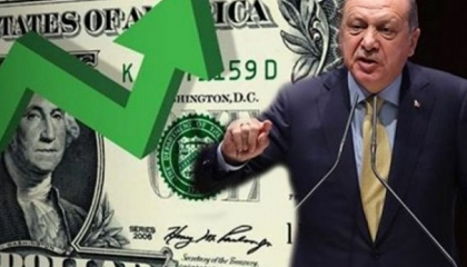 العملة التركية تواصل هبوطها.. والدولار يرتفع إلى 9.10 ليرة