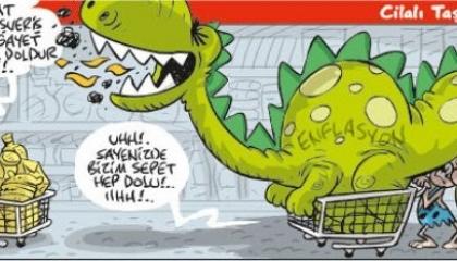 كاريكاتير: الأسعار تقهر الأتراك