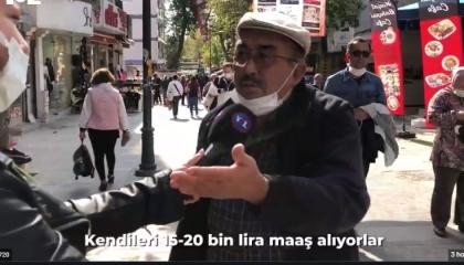 رسالة مواطن تركي لأردوغان: دعك من زعيم المعارضة وانشغل بجوعنا (فيديو)