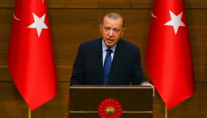 لحماية الحدود.. أردوغان يطالب البرلمان بتمديد وجود الجيش في سوريا لعامين