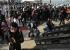 الشرطة التركية تعتدي على المتظاهرين
