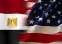 العلم الأمريكي والمصري