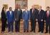 الرئيس المصري عبد الفتاح السيسي يستقبل وفدا إثيوبيا