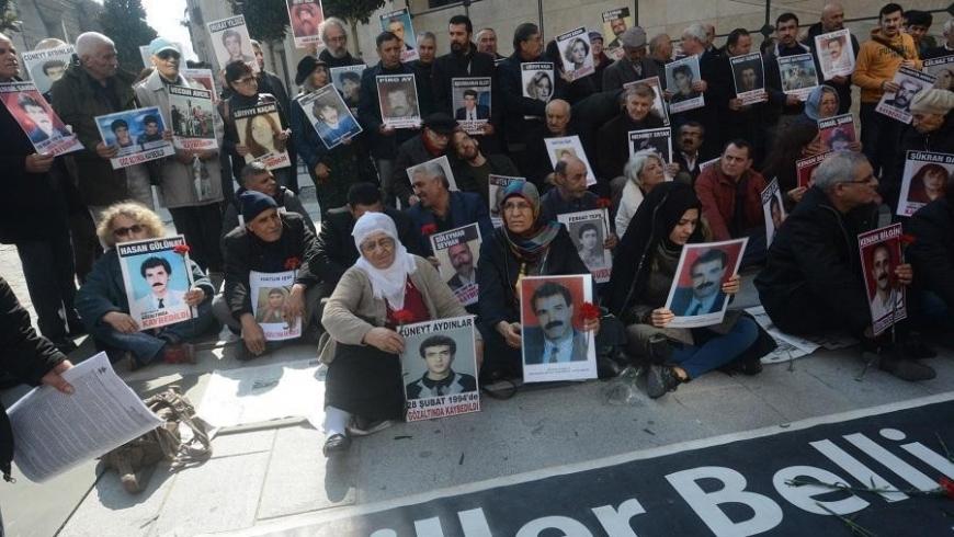 احتجاج ضد الاختفاء القسري بتركيا