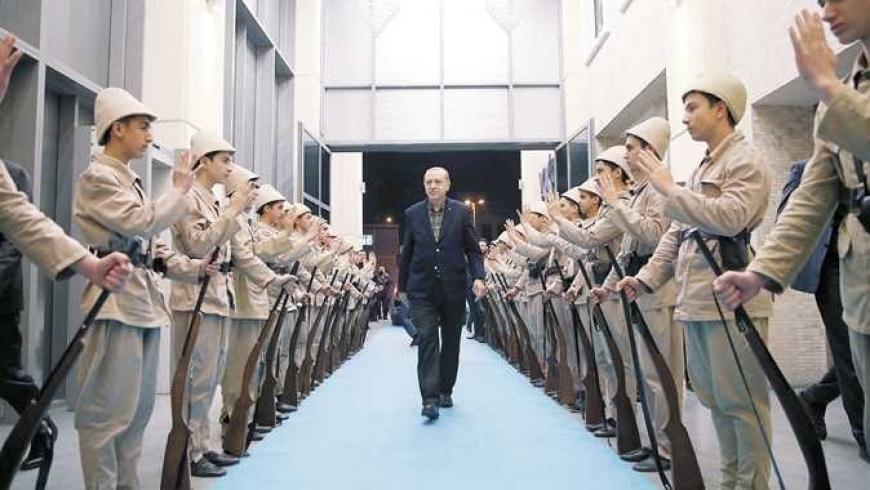 أردوغان حول تركيا لسجن