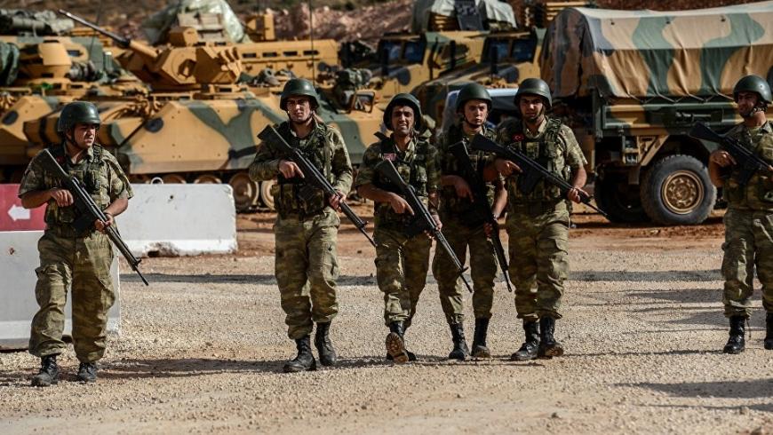 جيش الاحتلال التركي