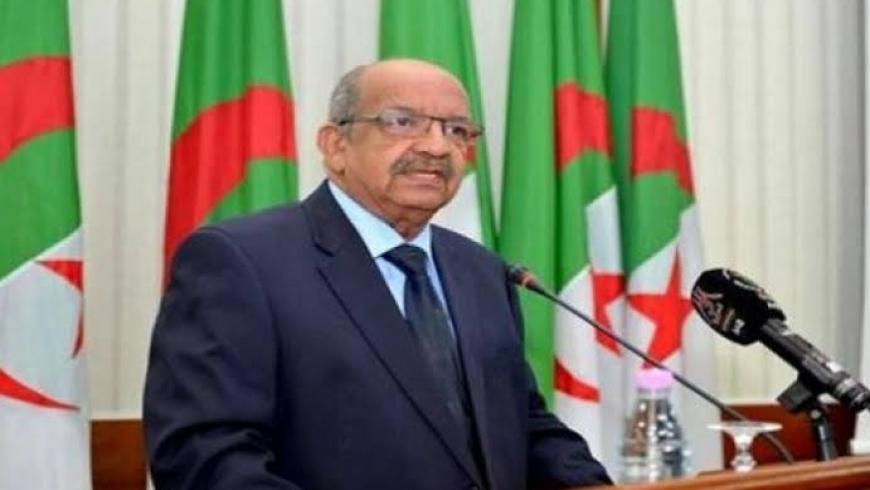 صبري بوقادوم وزير الشؤون الخارجية الجزائرية