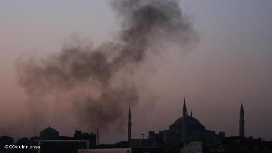 التلوث في إسطنبول