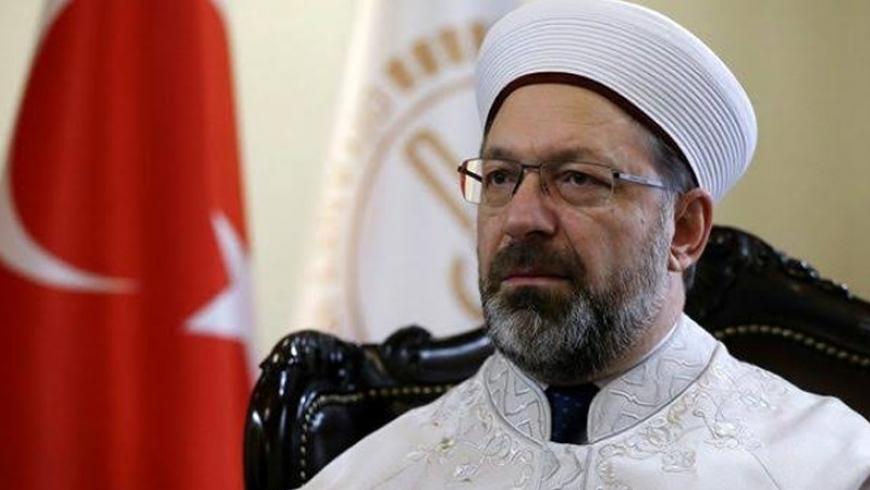 رئيس الشؤون الدينية التركية