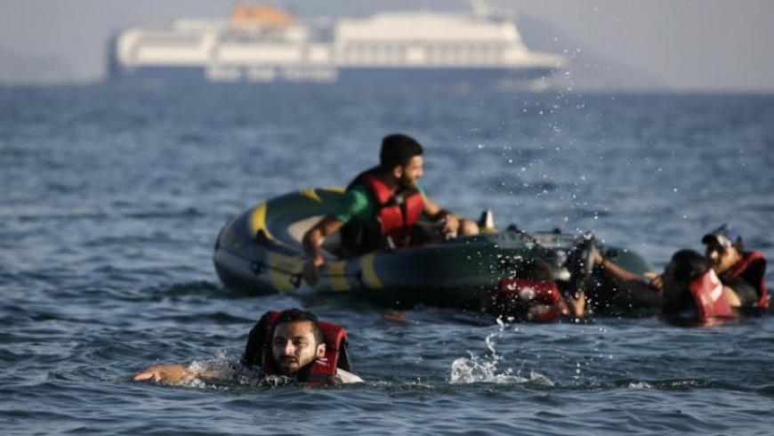 مأساة اللاجئين السوريين