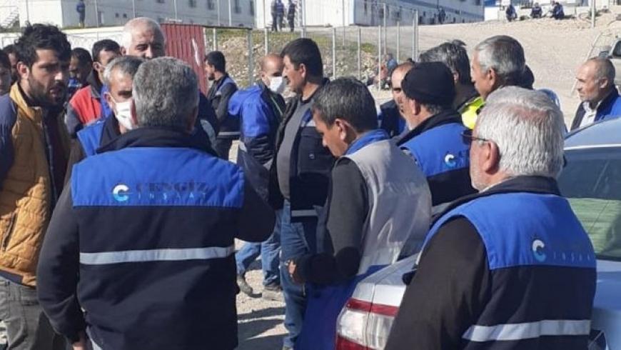 إضراب عمال شركة جينجيز