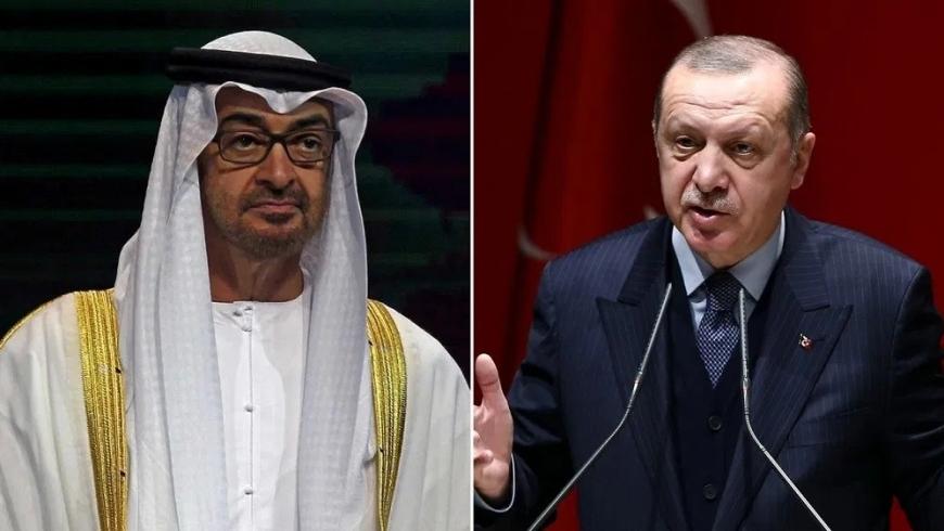 محمد بن زايد وأردوغان