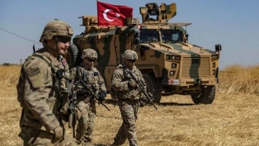 القوات التركية في حقول القمح - صورة أرشيفية