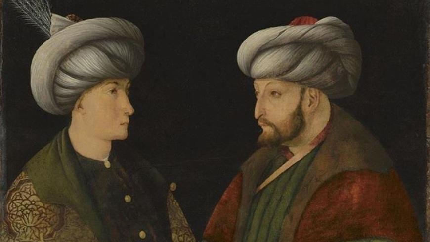 لوحة محمد الفاتح، الذي فتح مدينة إسطنبول عام 1453
