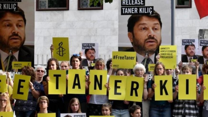 حبس نشطاء منظمة العفو