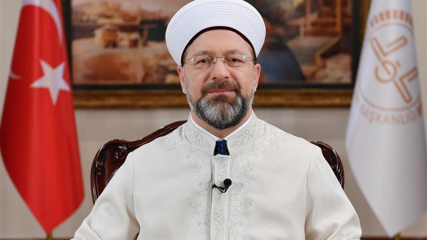 علي أرباش رئيس الشئون الدينية التركية