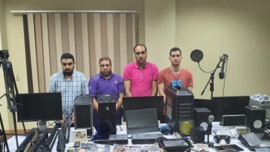 صورة للعناصر إلإرهابية التي ضبطتها الداخلية المصرية في الإسكندرية