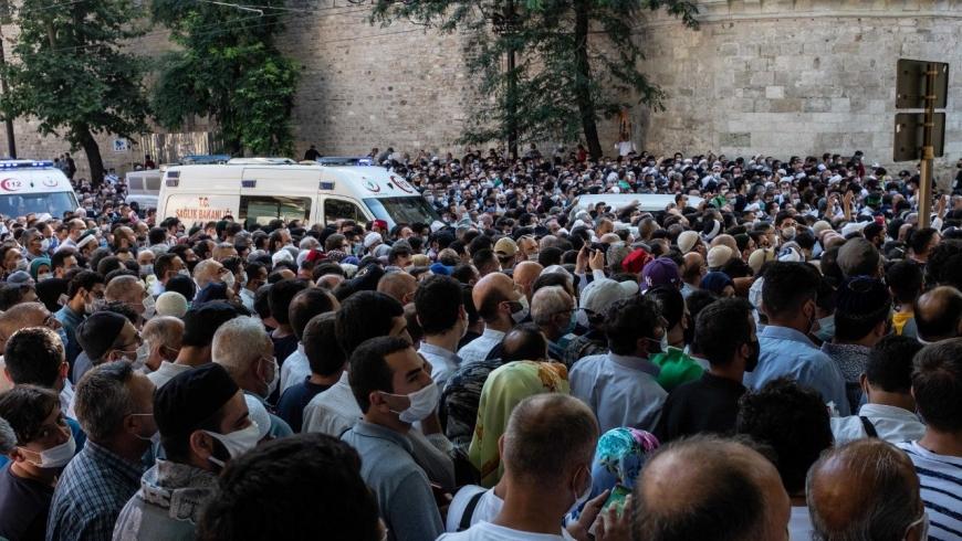 حشود آيا صوفيا