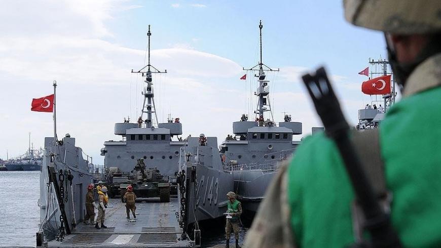 قاعدة بحرية تركية