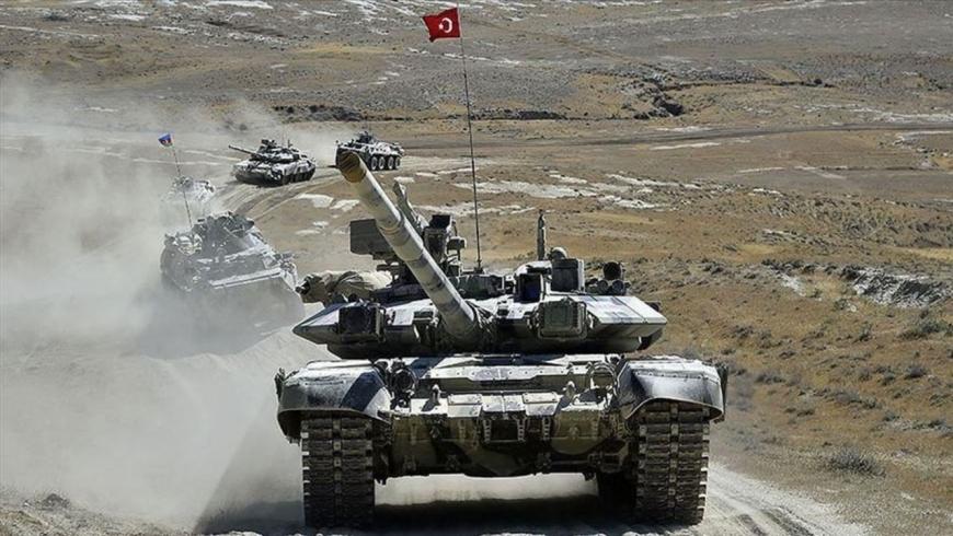 المناورات التركية الأذرية