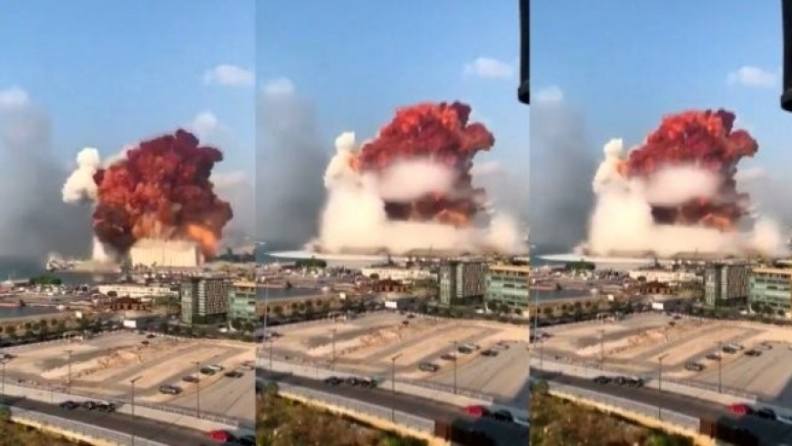انفجار ببيروت