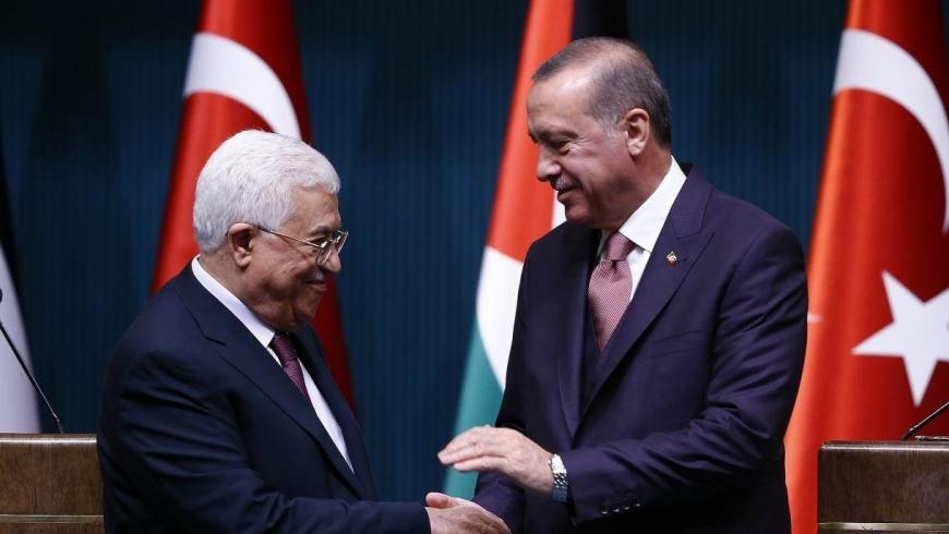 رجب طيب أردوغان ومحمود عباس