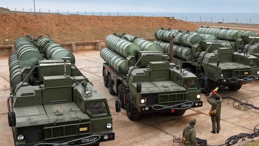 منظومة صواريخ اس-400