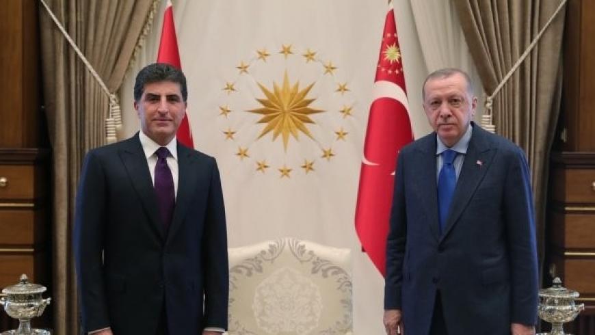 أردوغان وبارزاني