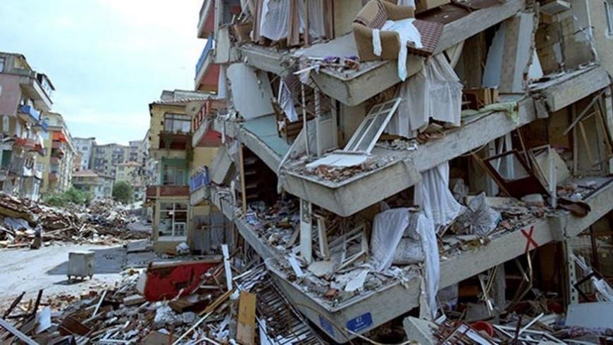 الزلازل في تركيا - أرشيفيه