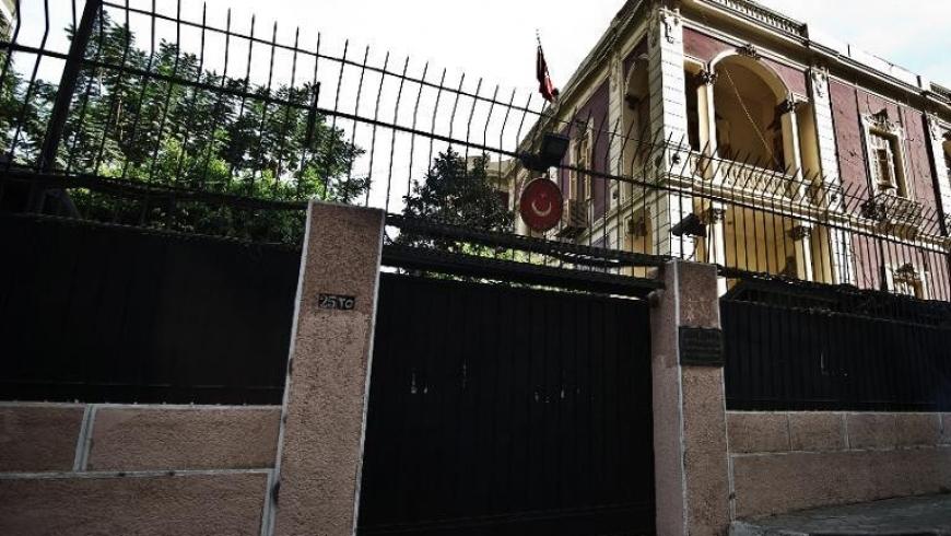 السفارة التركية في القاهرة